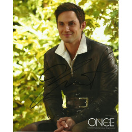 ANDREW J WEST SIGNED ONCE UPON A TIME 8X10 PHOTO (1)