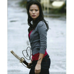 JAMIE CHUNG SIGNED ONCE UPON A TIME 10X8 PHOTO