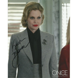 KRISTIN BAUER VAN STRATEN SIGNED ONCE UON A TIME 10X8 PHOTO