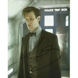 MATT SMITH SIGNED DOCTOR WHO 8X10 PHOTO (7)
