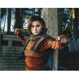 ALLY IOANNIDES SIGNED INTO THE BADLANDS 10X8 PHOTO (1)