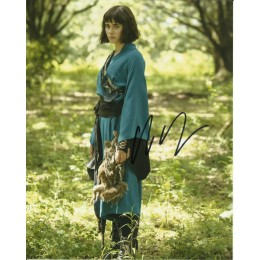 ALLY IOANNIDES SIGNED INTO THE BADLANDS 10X8 PHOTO (3)