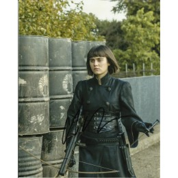 ALLY IOANNIDES SIGNED INTO THE BADLANDS 10X8 PHOTO (4)