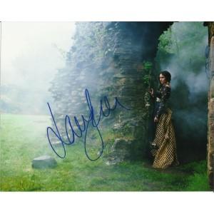 LAURA HADDOCK SIGNED SEXY DA VINCI'S DEMONS 10X8 PHOTO (4)