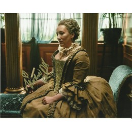 MARIA DOYLE KENNEDY SIGNED OUTLANDER 10X8 PHOTO (1)
