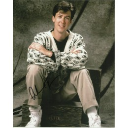ALAN RUCK SIGNED FERRIS BUELERS DAY OFF 8X10 PHOTO (1)