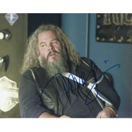 MARK BOONE JUNIOR SIGNED SONS OF ANARCHY 8X10 PHOTO (2)
