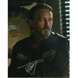 TOMMY FLANAGAN SIGNED SONS OF ANARCHY 8X10 PHOTO (2)