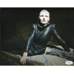 JENNIFER MORRISON SIGNED ONCE UPON A TIME 10X8 PHOTO (1) ALSO ACOA CERTIFIED