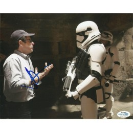 JJ ABRAMS SIGNED 8X10 STAR WARS PHOTO (4) ALSO ACOA CERTIFIED
