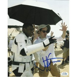JJ ABRAMS SIGNED 8X10 STAR WARS PHOTO (1) ALSO ACOA CERTIFIED