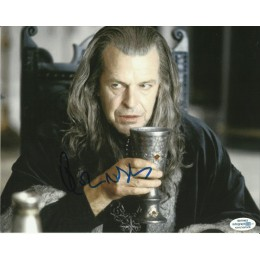JOHN NOBLE SIGNED LORD OF THE RINGS 8X10 PHOTO  ALSO ACOA CERTIFIED
