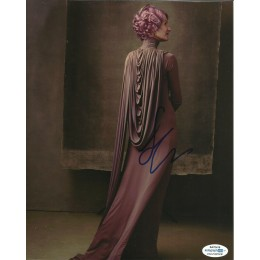 LAURA DERN SIGNED STAR WARS 8X10 PHOTO (3) ALSO ACOA CERTIFIED