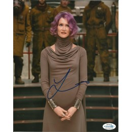LAURA DERN SIGNED STAR WARS 8X10 PHOTO (2) ALSO ACOA CERTIFIED