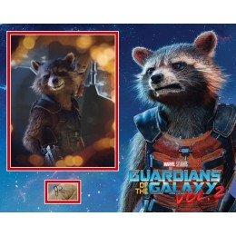 BRADLEY COOPER SIGNED GUARDIANS OF THE GALAXY PHOTO MOUNT  (1)