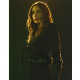 CHLOE BENNET SIGNED AGENTS OF SHIELD 10X8 PHOTO (4)
