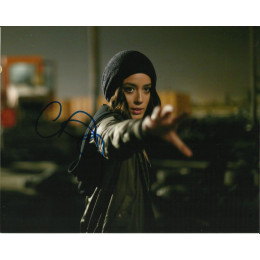 CHLOE BENNET SIGNED AGENTS OF SHIELD 10X8 PHOTO (5)