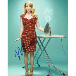 MELISSA RAUCH SIGNED SEXY 10X8 PHOTO (4)