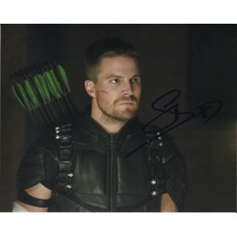 STEPHEN AMELL SIGNED ARROW 8X10 PHOTO (5)