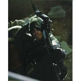 STEPHEN AMELL SIGNED ARROW 8X10 PHOTO (8)