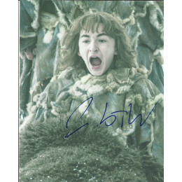 ISAAC HEMPSTEAD WRIGHT SIGNED GAME OF THRONES 8X10 PHOTO