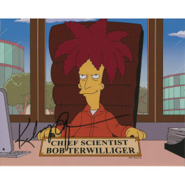 KELSEY GRAMMER SIGNED THE SIMPSONS 8X10 PHOTO (2)