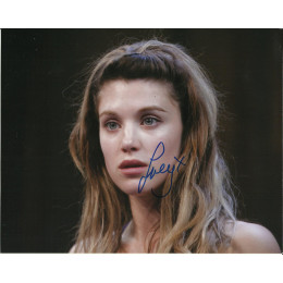 LUCY GRIFFTHS SIGNED TRUE BLOOD 10X8 PHOTO (1)