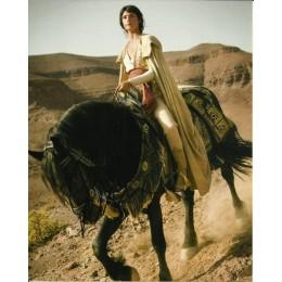 GEMMA ARTERTON SIGNED PRINCE OF PERSIA 10X8 PHOTO