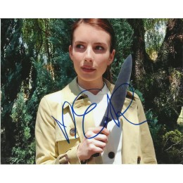 EMMA ROBERTS SIGNED AMERICAN HORROR STORY 10X8 PHOTO (2)