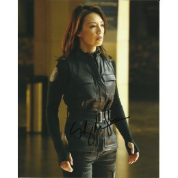 MING-NA WEN SIGNED AGENTS OF SHIELD 10X8 PHOTO (1)