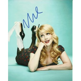 MELISSA RAUCH SIGNED SEXY 10X8 PHOTO (3)