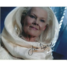 JUDI DENCH SIGNED THE CHRONICLES OF RIDDICK 10X8 PHOTO