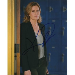 KIM DICKENS SIGNED FEAR THE WALKING DEAD 10X8 PHOTO (3)