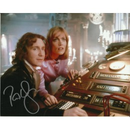 PAUL McGANN SIGNED DOCTOR WHO 8X10 PHOTO (1)