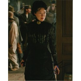 MOLLY PARKER SIGNED DEADWOOD 10X8 PHOTO (2)