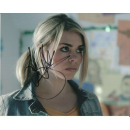 BILLIE PIPER SIGNED DOCTOR WHO 10X8 PHOTO (3)