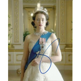 CLAIRE FOY SIGNED THE CROWN 10X8 PHOTO (2)
