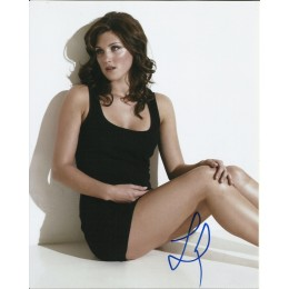 LUCY GRIFFTHS SIGNED SEXY 10X8 PHOTO (1)