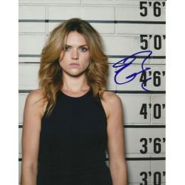 ERIN RICHARDS SIGNED SEXY GOTHAM 8X10 PHOTO (2)