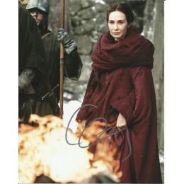 CARICE VAN HOUTEN SIGNED GAME OF THRONES 10X8 PHOTO (2)