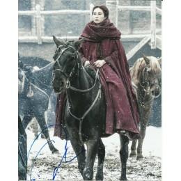CARICE VAN HOUTEN SIGNED GAME OF THRONES 10X8 PHOTO (3)