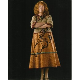 JULIE WALTERS SIGNED HARRY POTTER 10X8 PHOTO (1)