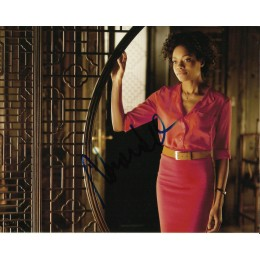 NAOMIE HARRIS SIGNED BOND 10X8 PHOTO (2)