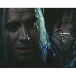 RHYS IFANS SIGNED HARRY POTTER 8X10 PHOTO (1)