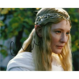 CATE BLANCHETT SIGNED LORD OF THE RINGS 10X8 PHOTO (1)