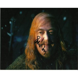 STEPHEN FRY SIGNED THE HOBBIT 8X10 PHOTO