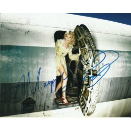 MAGGIE GRACE SIGNED SEXY LOST 10X8 PHOTO (1)