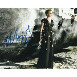 MAGGIE GRACE SIGNED SEXY LOST 10X8 PHOTO (2)