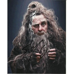 SYLVESTER McCOY SIGNED THE HOBBIT 8X10 PHOTO (1)