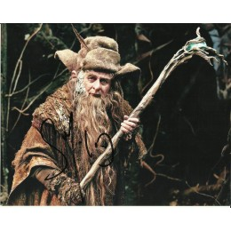 SYLVESTER McCOY SIGNED THE HOBBIT 8X10 PHOTO (2)